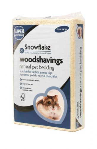 Snowflake Wood Shavings / Bedding for Small Animals